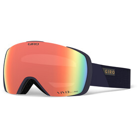 Giro Contact Maschera, midnight peak/vivid copper/vivid infrared